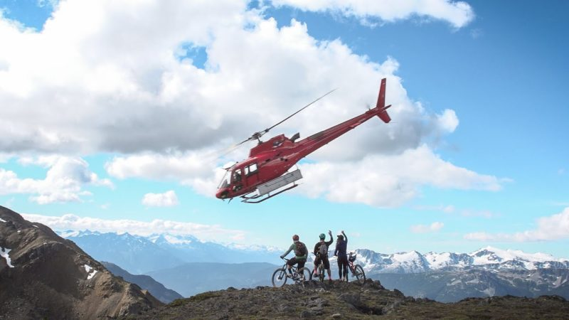 Alpine Adventures: Heli-Biking Whistler