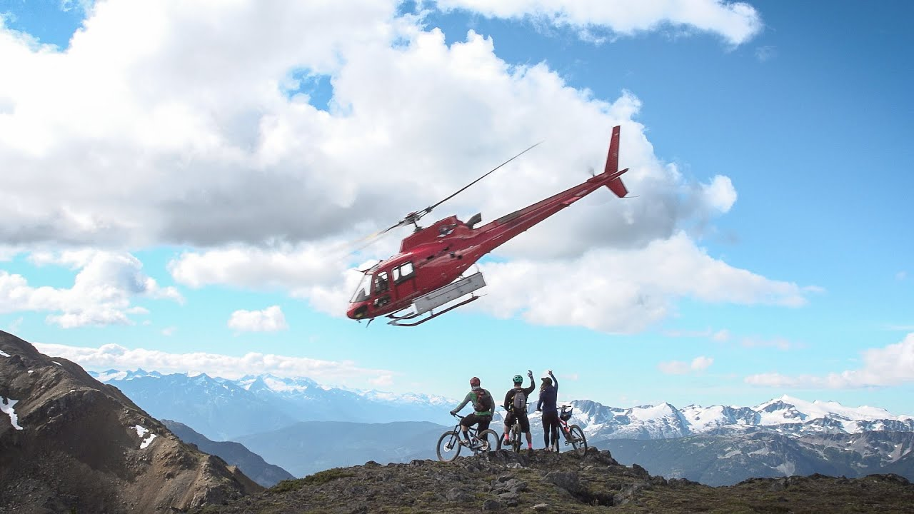Alpine Adventures: Heli-Biking Whistler