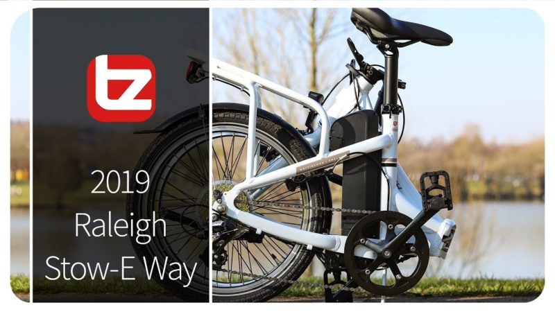 Raleigh Stow-E Way Folding Electric Bike | Range Review | Tredz Bikes