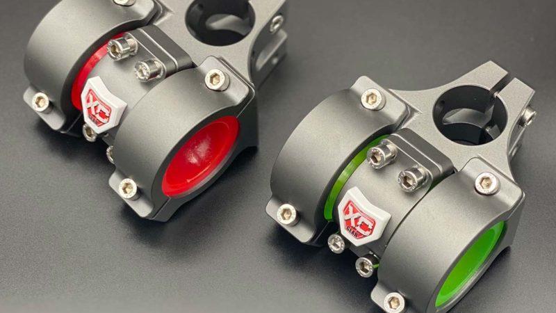 La potence d'amortissement des vibrations XC Gear Hammerhead 360 prétend réduire la fatigue des mains / bras
