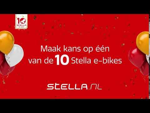 Stella bestaat 10 jaar! Win een gratis e-bike