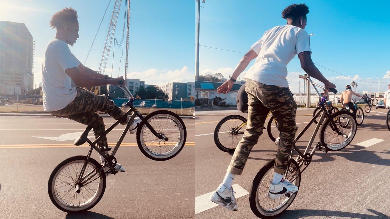 INSANE BALANCE POINT ON 20 inch BMX BIKE #shorts