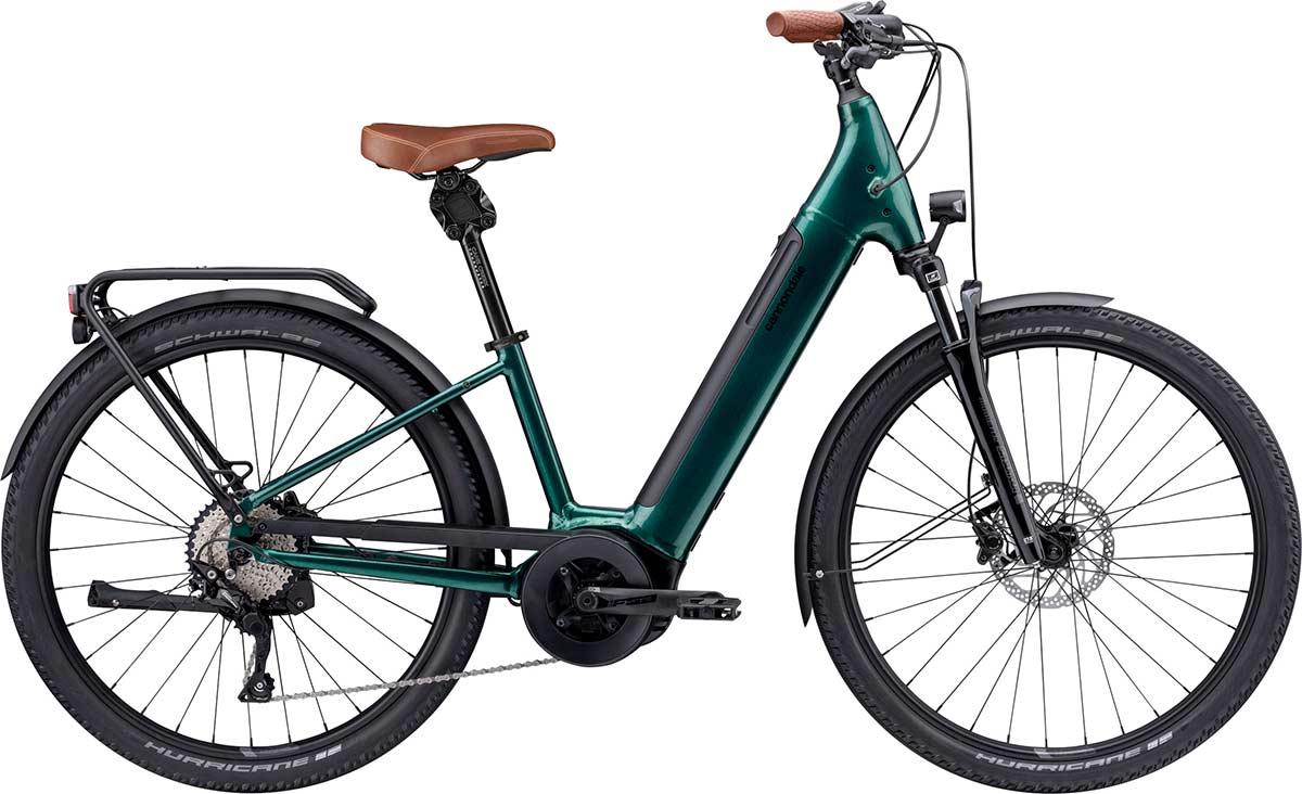 La bicicleta eléctrica Cannondale Adventure Neo promete viajes cómodos con todas las características