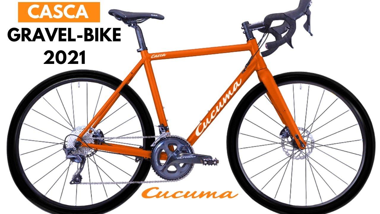 Gravel Bike – Cucuma Casca 2021   Crossrad    Adventure Bike   Shimano Gangschaltung   Carbongabel