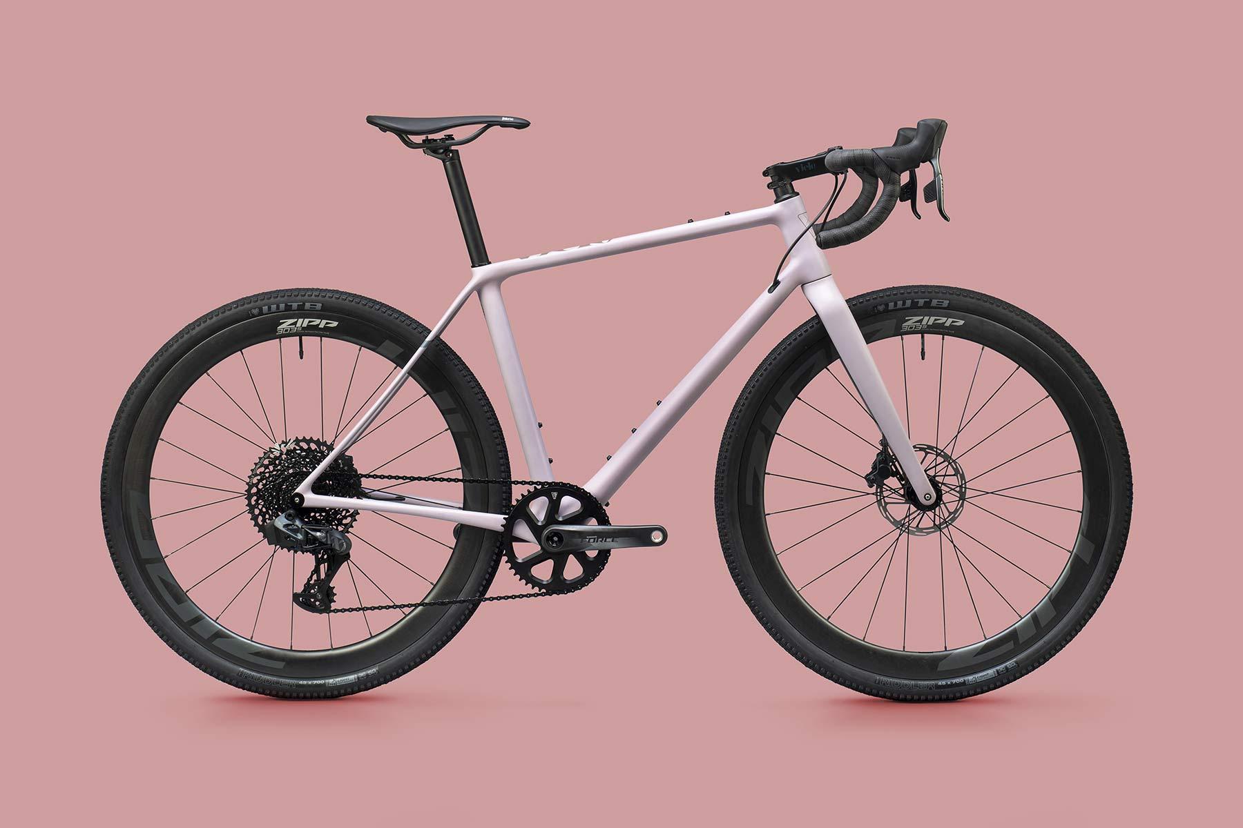Les vélos de gravel Vielo V + 1 libèrent des gen2 plus performants, prêts pour chaque sortie quittant le tarmac