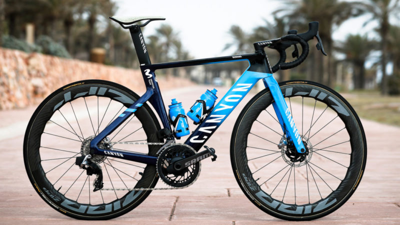 Mijn fiets: Leah Thomas 'Team Movistar Canyon