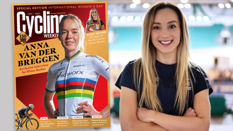 Elinor Barker: 'I wanted to showcase the sport'