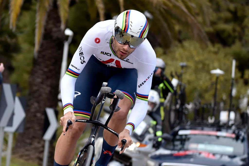 Ganna: Tirreno-Adriatico time trial loss showed 'I'm human, not a robot'