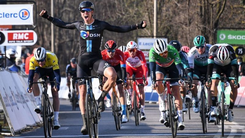 Paris-Nice: Cees Bol wins stage 2