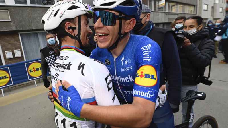 UCI bans celebration hugs in order to send the right coronavirus message to fans