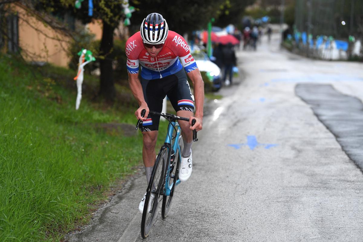Mathieu van der Poel makes it two in attritional stage – VeloNews.com