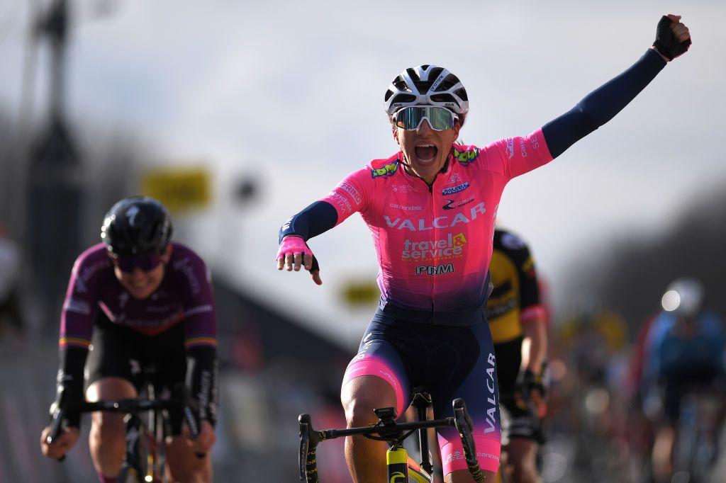 Elisa Balsamo wins first GP Oetingen