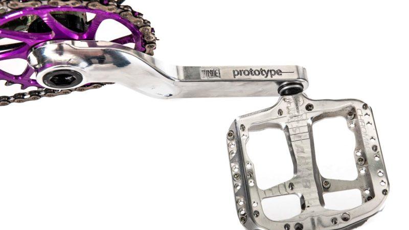 Visto: bielas prototipo Ignite Components fabricadas en EE. UU. Para bicicletas de gravel y de montaña
