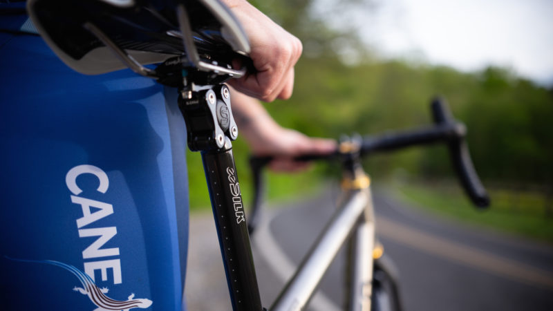 Two new Cane Creek eeSilk suspension seatposts unveiled, including a carbon flagship model