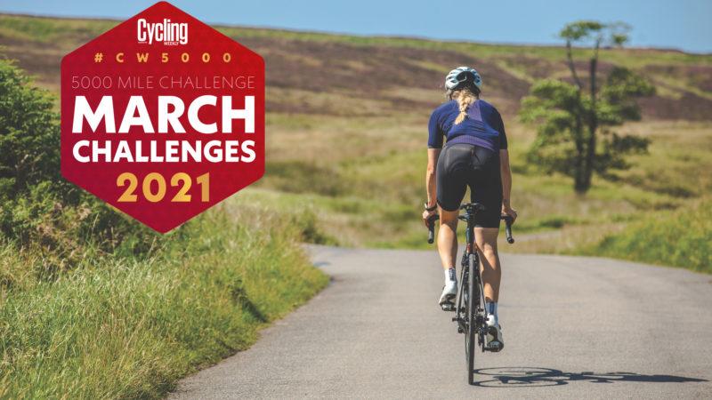 CW5000 maart-uitdagingen – Cycling Weekly