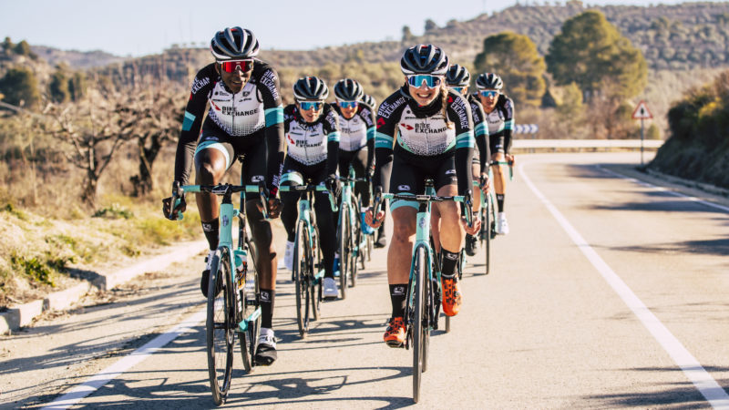 BikeExchange per abbinare lo stipendio minimo della squadra femminile a quello degli uomini