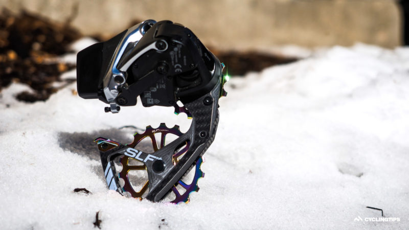 Spotlight: SLF Motion Evo Speed System oversized rear derailleur pulley cage
