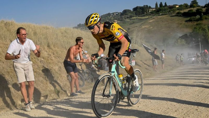 Wout van Aert: Strade Bianche is one of the strongest fields of the year