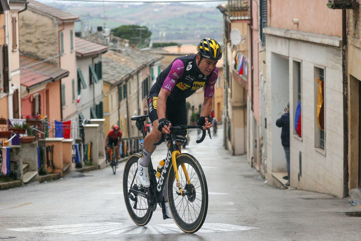 Wout van Aert: It's no shame to lose Tirreno-Adriatico to Tadej Pogacar