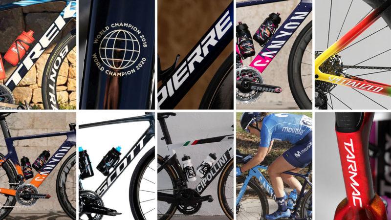 Teambikes der 2021 Women's WorldTour