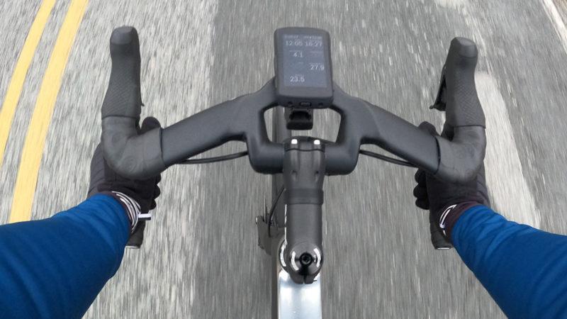 Coefficient Wave RR-stuur geeft je een ultra-aerodynamische positie, geen illegale plooi nodig