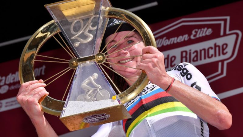 Annemiek van Vleuten: Live TV before equal prize money