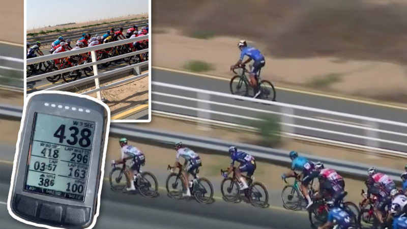 What's it like to ride alongside the pro peloton? We spoke to someone who's done it