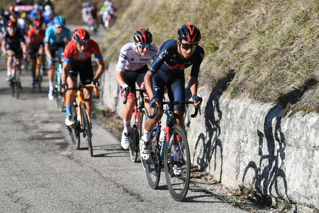 Bernal and Thomas positive about future goals after testing day at Tirreno-Adriatico