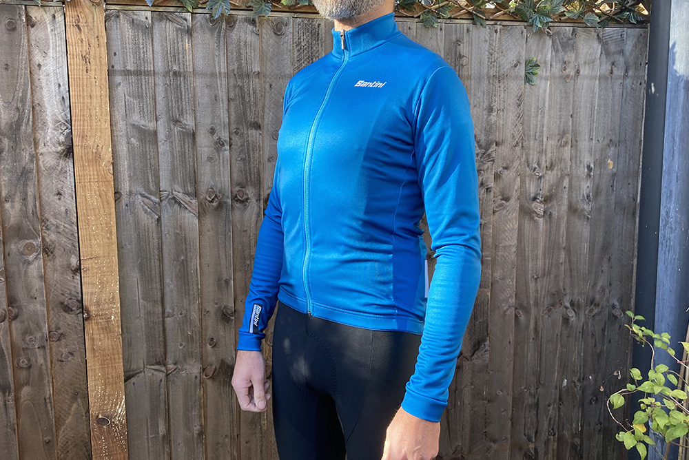 Santini Colore Long Sleeve Winter Jersey review
