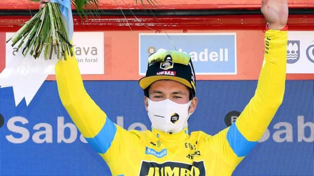 Adam Yates sjette, da Primoz Roglic vinder tidskørsel i Baskerlandet