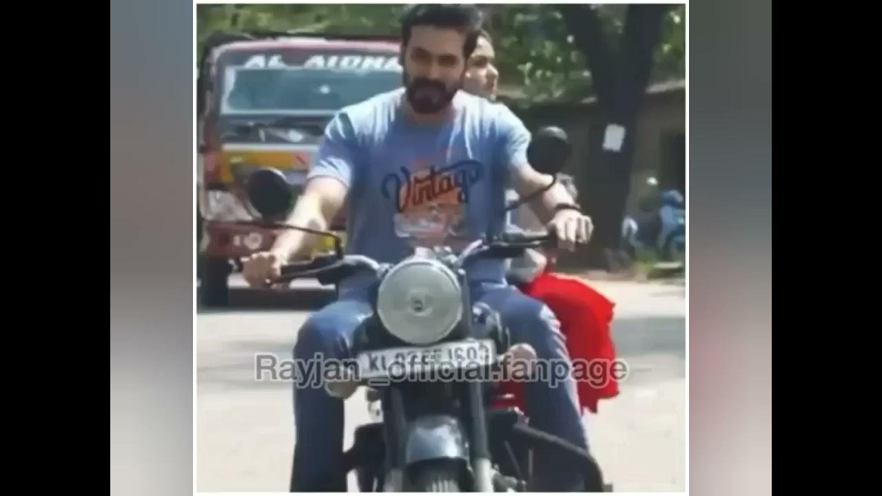 Rahuel and Keerthi (Rathi) – Bike ride mood on