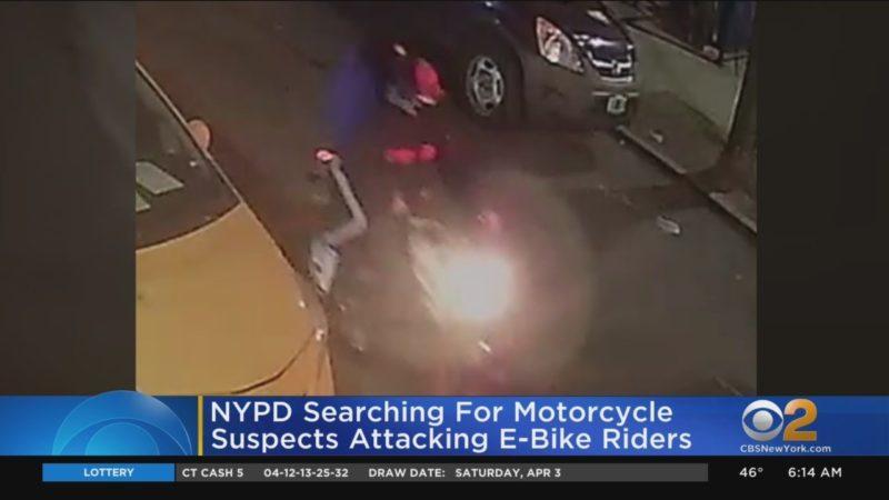 NYPD Seeks Suspects Targeting E-Bike Riders