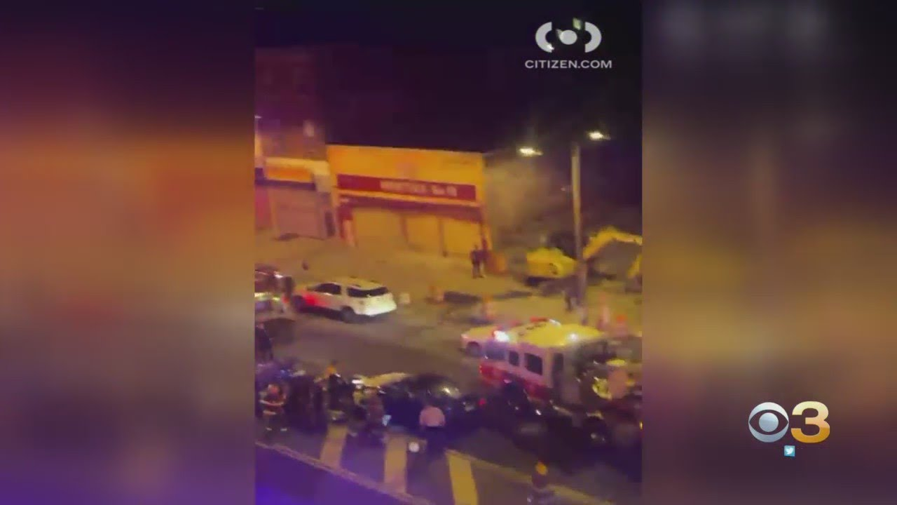 2 People Injured After Car Collides With 2 Dirt Bikes In North Philadelphia