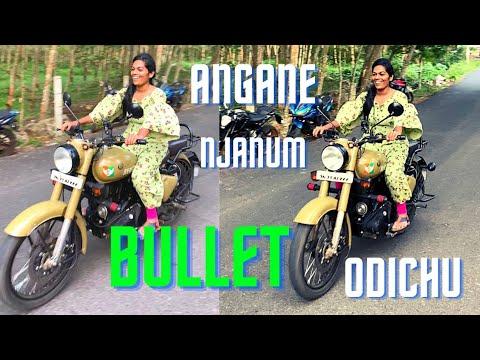 Bullet Ride | Royal Enfield Girl Riding | #Shorts | Girls Bike Riding Moments | Girls on Bike