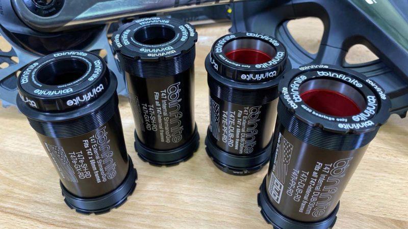 BBInfinite tråd op dødbringende lydløs BB tech til T47 bundbeslag
