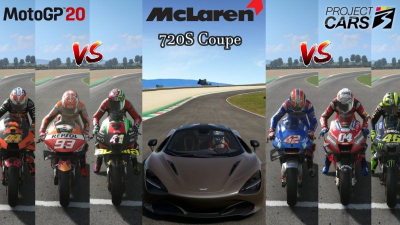 McLaren 720S Coupe Takes On Brutal Moto GP Bikes || Mclaren 720S Vs Moto GP Bikes || Drag Battle ||
