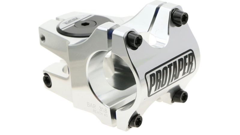 ProTaper Team Stem polishes your cockpit w/ 31.8mm clamp and 30-50mm reach