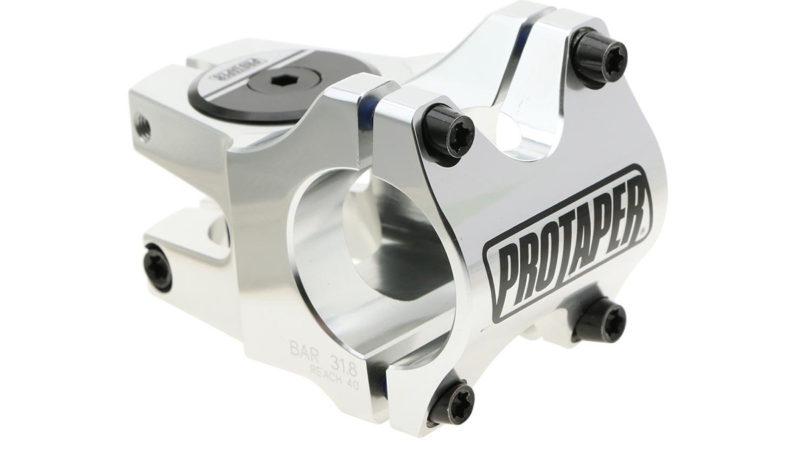 ProTaper Team Stem poliert Ihr Cockpit mit 31,8 mm Klemme und 30-50 mm Reichweite