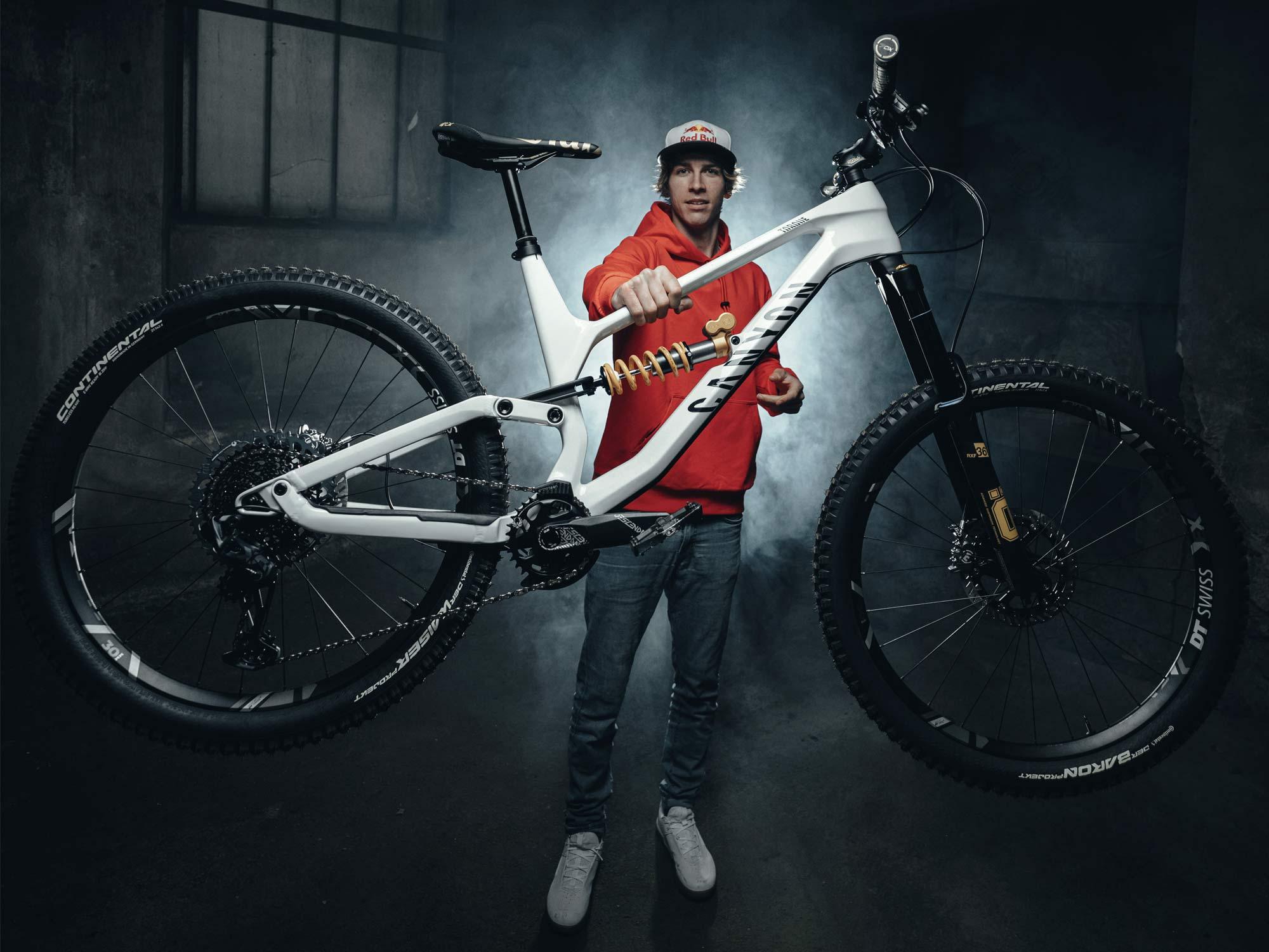Canyon Torque CF Fabio Wibmer bici da enduro in edizione limitata