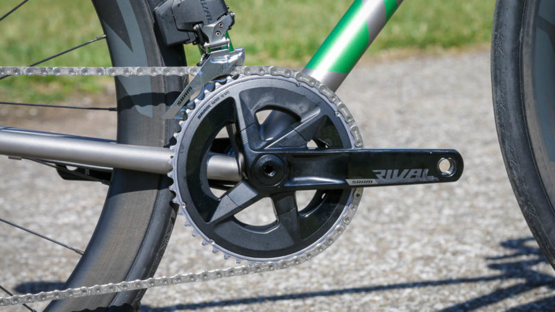 SRAM Rival eTap AXS drivetrain brings modern wireless shifting to riders of all levels