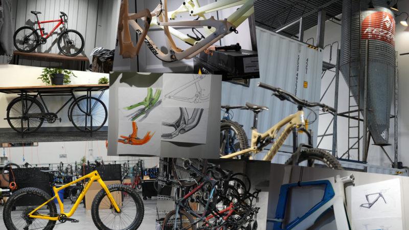 Tour de la sede de Fezzari: prototipos, dibujos conceptuales, estaciones de montaje y más.