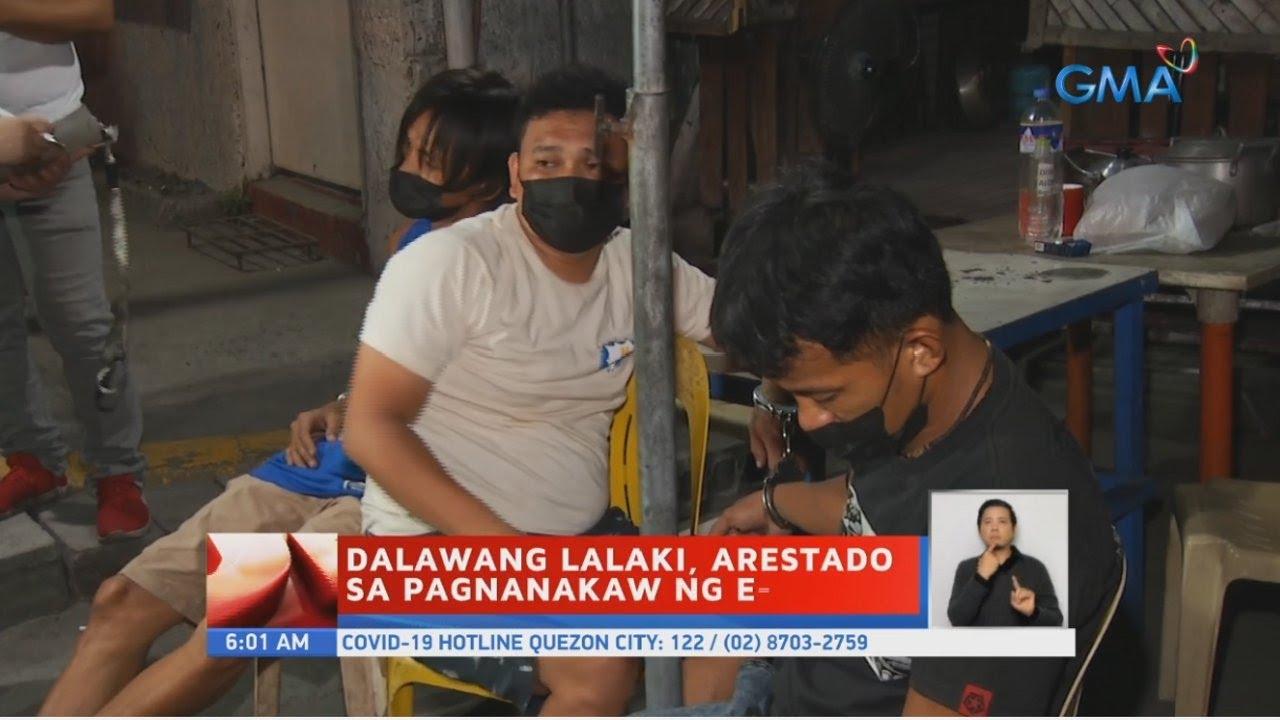Dalawang lalaki, arestado sa pagnanakaw ng e-bike | UB