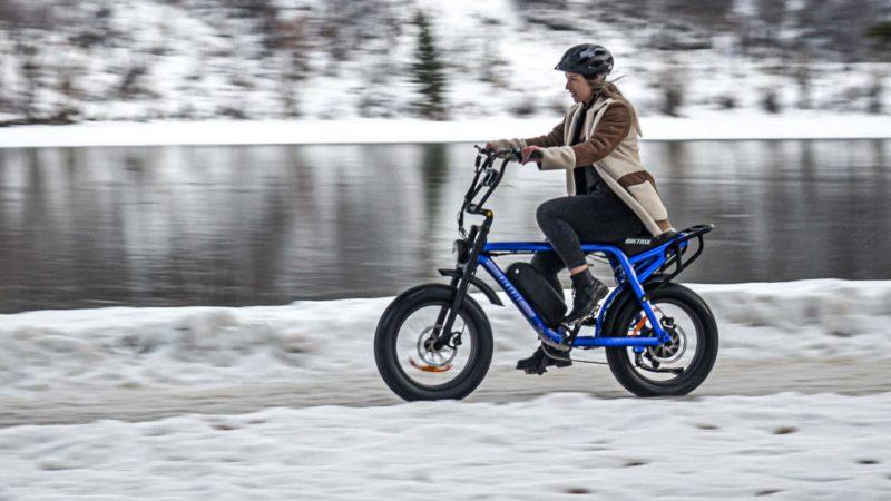 Biktrix Moto, an e-moped with big e-bike power & cruiser range