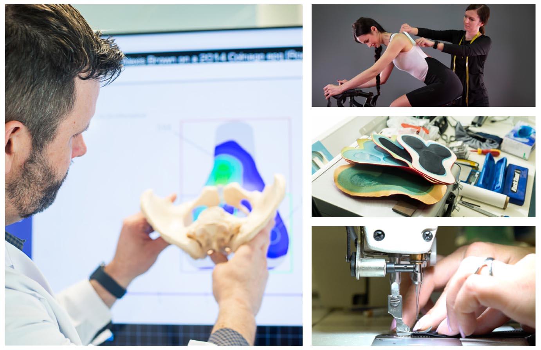 Endura Ergonomistry Project results in Women's Pro SL EGM Bibshort w/ new tech & fit