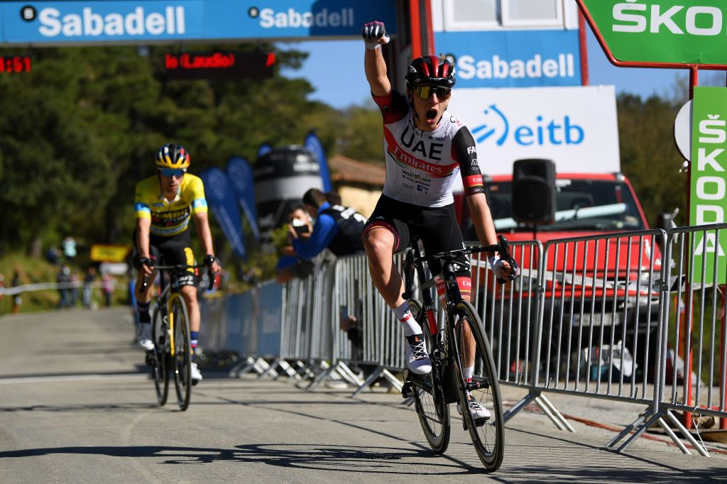 Itzulia Basque Country: Tadej Pogacar climbs to stage 3 win