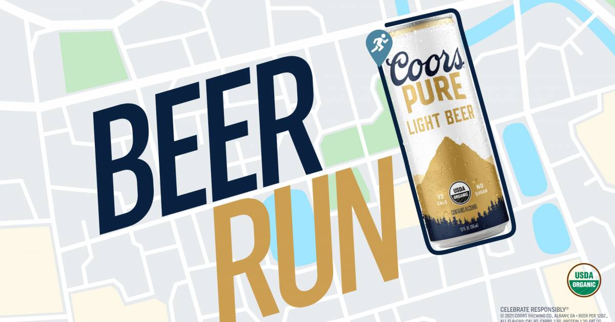 Run a 'Beer Can Loop,' Get a Free 12-Pack of Coors