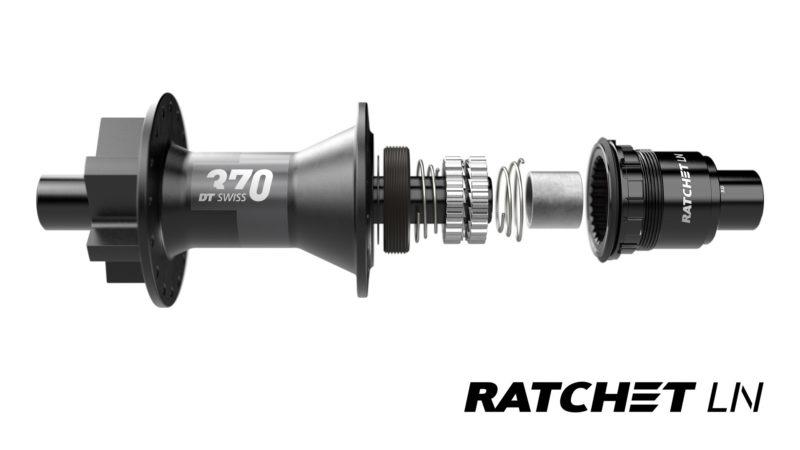DT Swiss kondigt Star Ratchet LN-upgradekit aan voor lagere naven en wielen