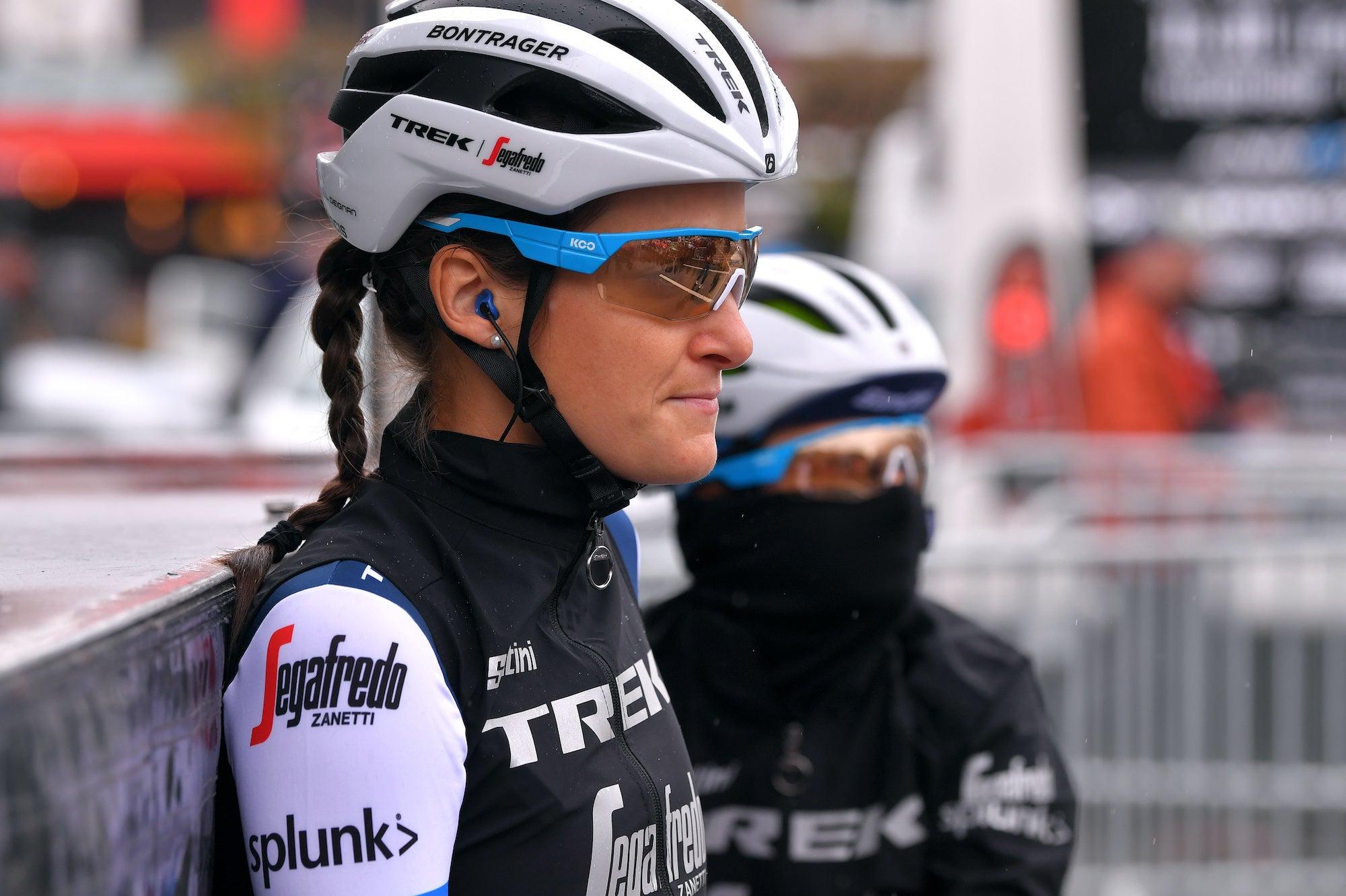 News ticker VN: Lizzie Deignan, Team DSM, Parkhotel Valkenburg fuori dalla Liegi-Bastogne-Liegi femminile