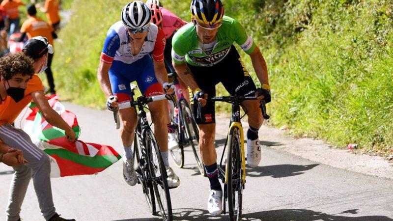 Primož Roglič over de spannende overwinning van de Ronde van het Baskenland: 'Vandaag was gewoon prachtig.  Ik heb het hele podium plezier gehad '