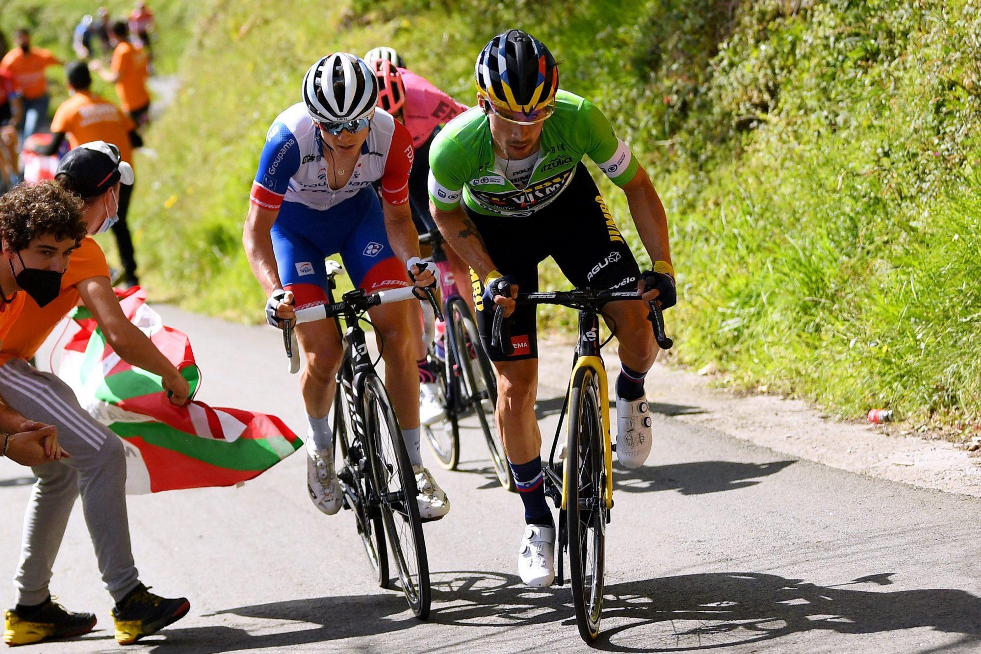 Primož Roglič lors de la palpitante victoire du Tour du Pays basque: «Aujourd'hui, c'était tout simplement magnifique.  Je me suis amusé toute la scène '